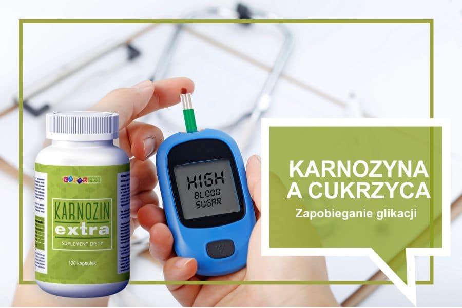 Ochrona przed chorobami związanymi z cukrzycą (zapobieganie glikacji)